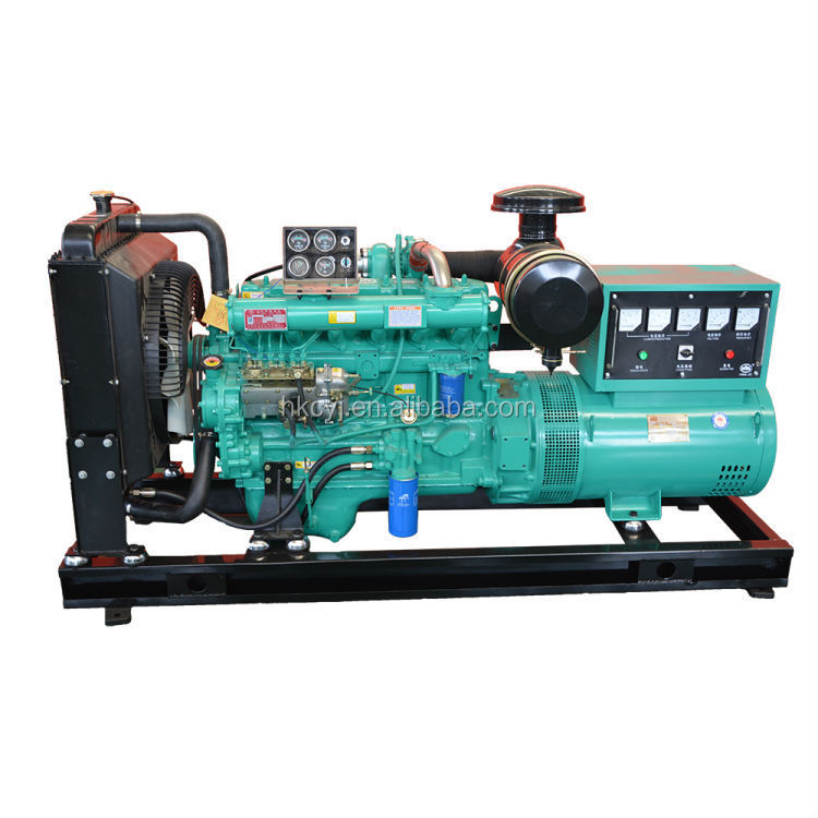 Water cooled 50Hz 3 phase 120KW Electric Diesel Generator