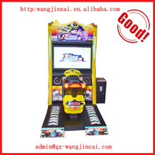 coin operated simulator driving motorcycles arcade gaming machine indoor amusement park Super Bike car racing game machine