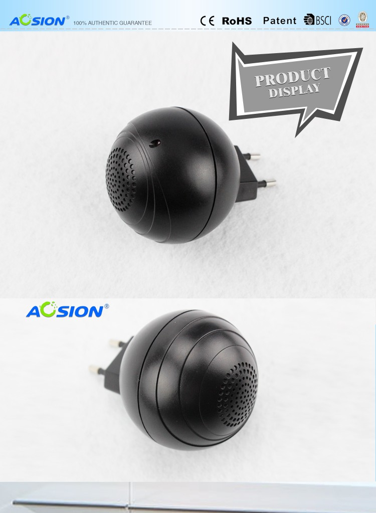 Mini eye shape design GS plug ultrasonic mosquito repeller