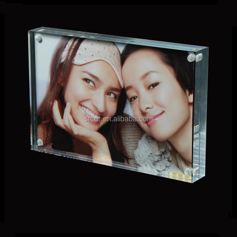 Manufacturer supply acrylic clear frame <strong>picture</strong>