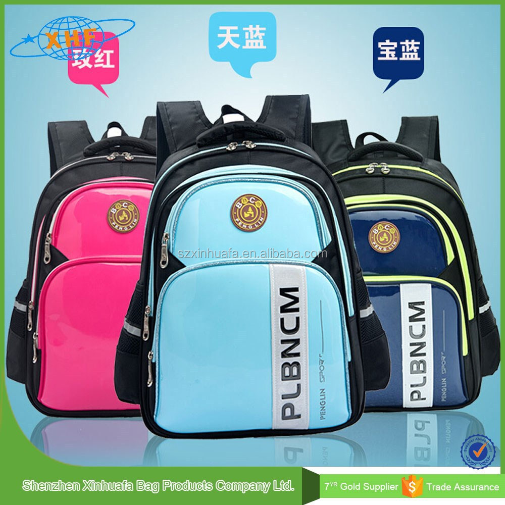 Hight Quality Custom Logo Latest Waterproof Kids School Bag For Girls