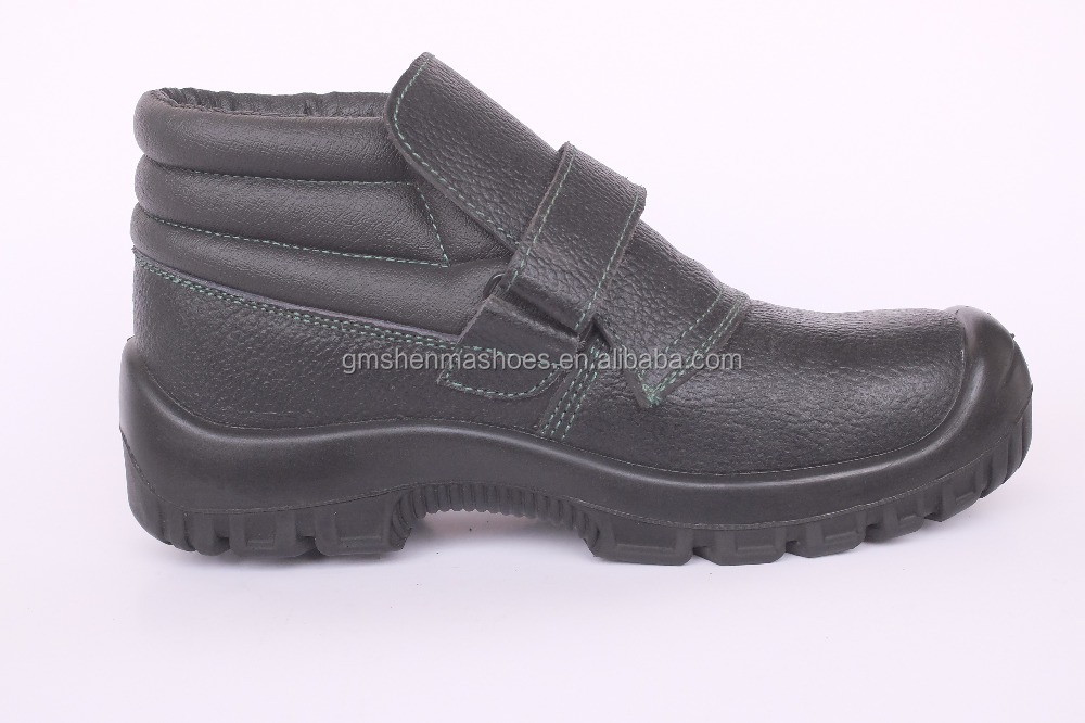 action leather ,boot with steel toe and steel plate, S3 SM627 -3 work boots men