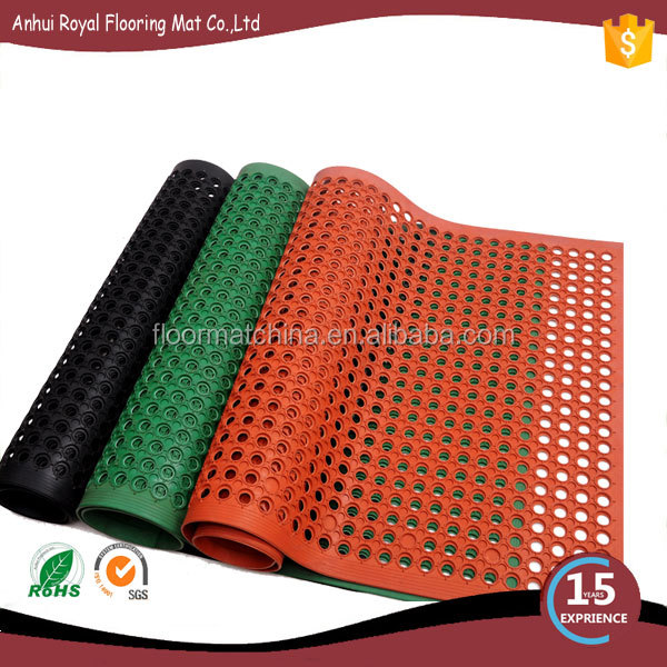 High Quality Factory Use Perforated Rubber Matt