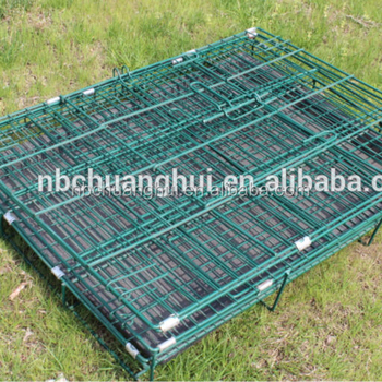 Collapsible Double Dog Cage Many Sizes For Sale
