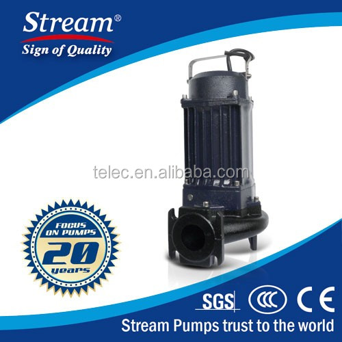 SWQCS(D)10-16-1.5 Submersible Pump For Waste Water