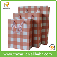 Wholesale price brown take paper bag color shopping bag