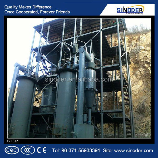 Coal gasifier /Gas generator/biomass gasifier power plant used in metallurgy, chemical industry, building industry
