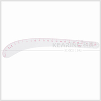 Kearing Plastic 24'' Vary Form Curve Ruler Sandwich Line for Fashion Design OEM #6224