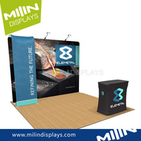 Professional display backdrop stand exhibition fair trade show booth design