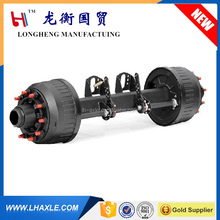 HOT Sale 3 axles for low platform low bed semi trailer