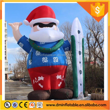 20 Foot Tall Giant Custom Inflatable Santa Claus Prop