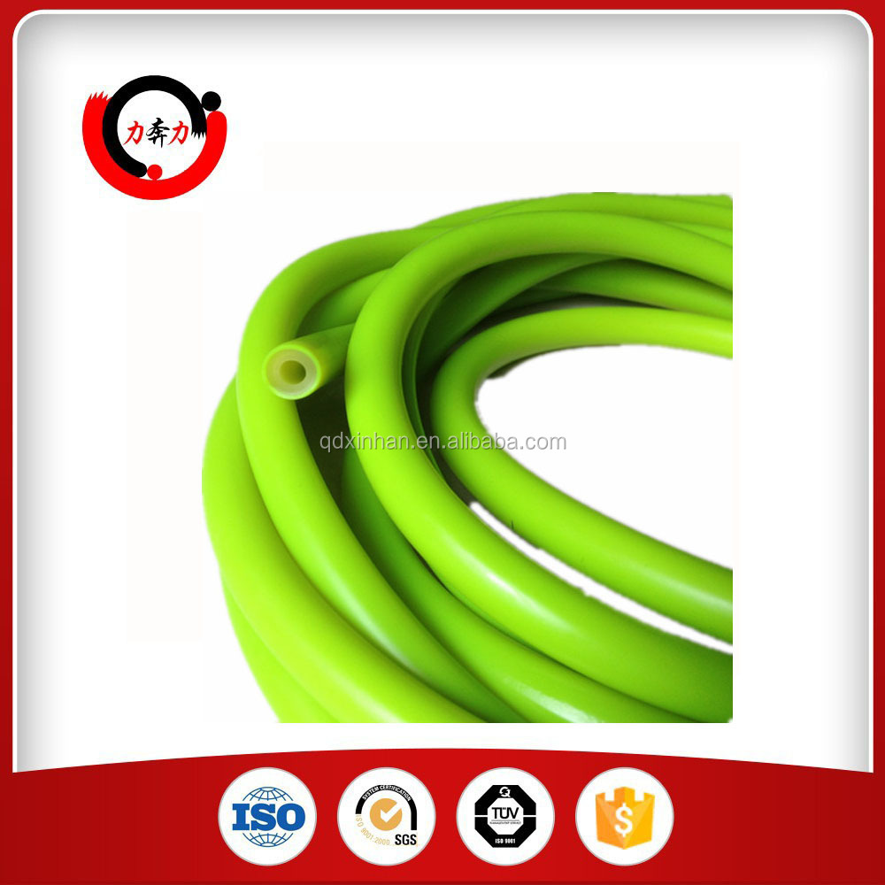 Coloured natural latex rubber tube