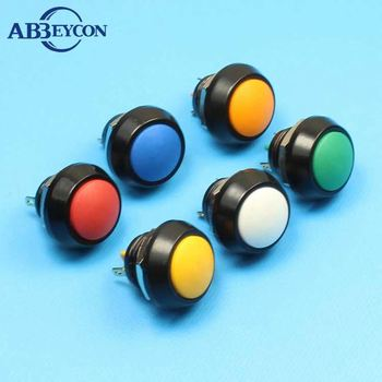12mm,16mm,19mm 22mm 25mm 28mm 30mm Round waterproof metal push button switch momentary on with/without LED Manufacturer China