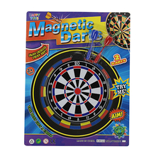 Magnetic dart board game shooting target for kids