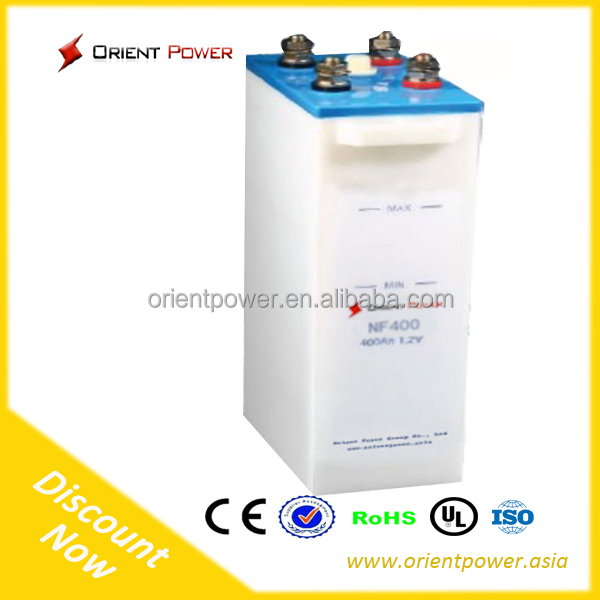 Ni-Fe Nickel Iron nickel iron batteries 1.2V 1200Ah