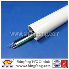 Electrical PVC Conduits Thick Wall Plastic Tubes