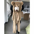 Wholesale Popular Unstuffed Plush Giant Bear Toy Outer Skin
