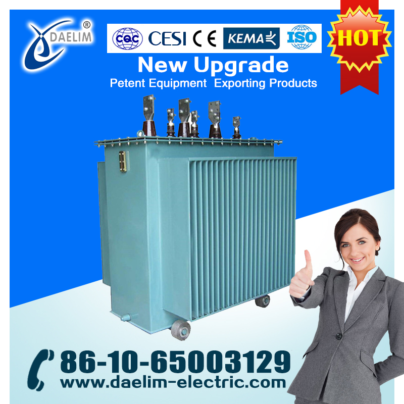 33/11 KV 12500KVA Load-ratio Voltage Regulation Three-phase Power Transformer