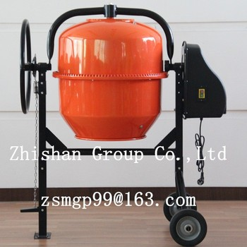 CM125(CM50-CM800) Small Type Portable Stainless Steel Concrete Mixer