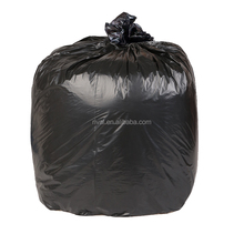 Large Size Black Plastic Drawstring Trash Bags With Fragrance and EPI