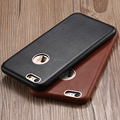 2016 trending products luxury real genuine leather back cover case for iphone 6