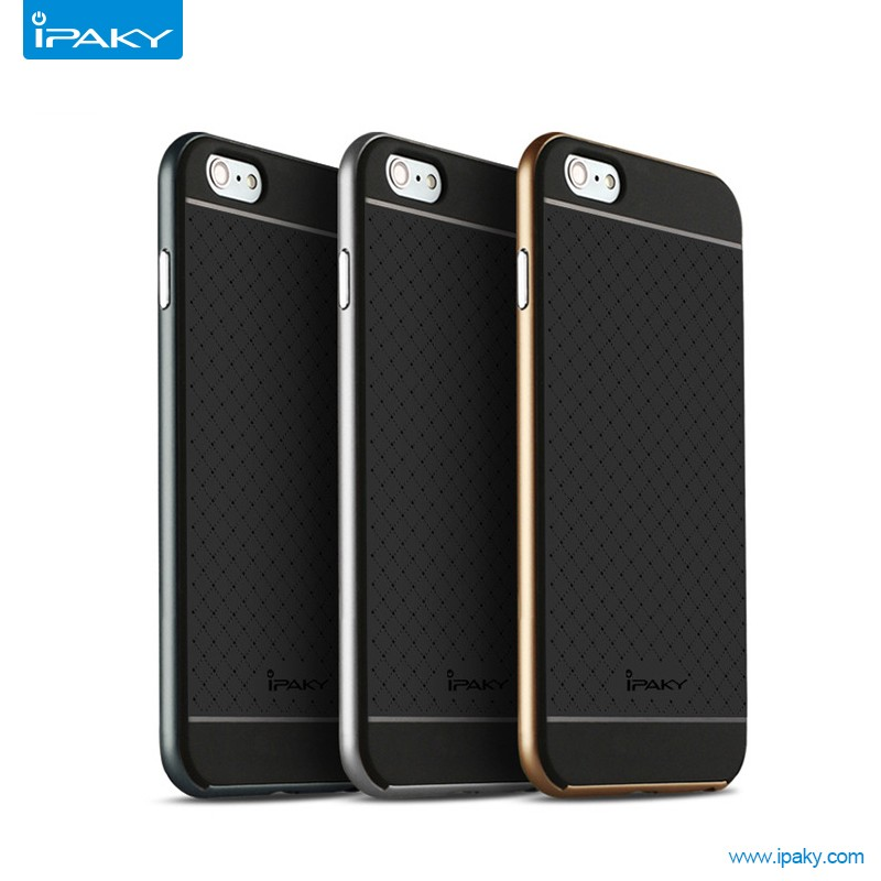Alibaba China Hot Product Ipaky Hybrid Mobile Phone Housings Cell Phone Case For Iphone 6 Plus With Retail Package