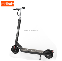 Good quality 8 inch aluminum alloy foldable 2 wheel mobility electric scooter for sale