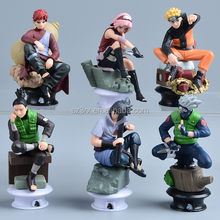 customized plastic PVC action figurine toy moulding/custom made comic naruto action figure for collectible