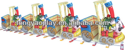 2014 High Quality Colorful Outdoor Electric Toy Train Set TY-11705(8 Seats)