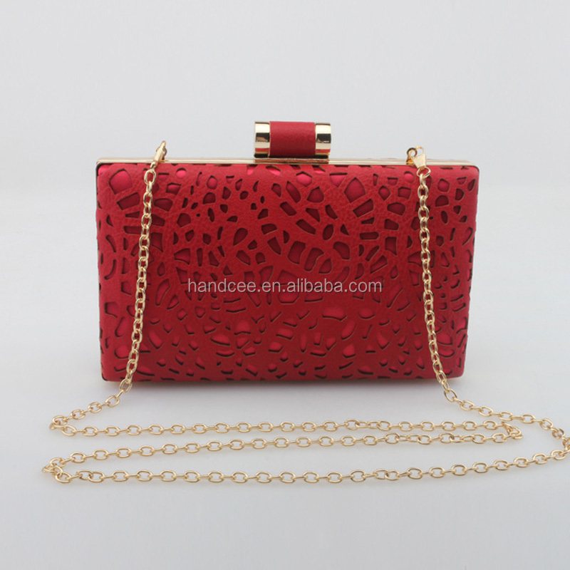 2016 Handcee fashion and elegance bling bling handbags in china