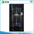 50l 100l Double Layer Jacketed Glass Reactor
