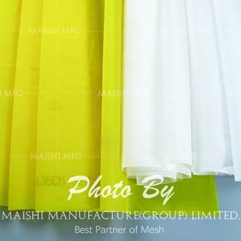 polyester silk screen printing material
