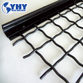 Size 1630mmX2550mm Mine Stone Crimped Woven Wire Screen Mesh
