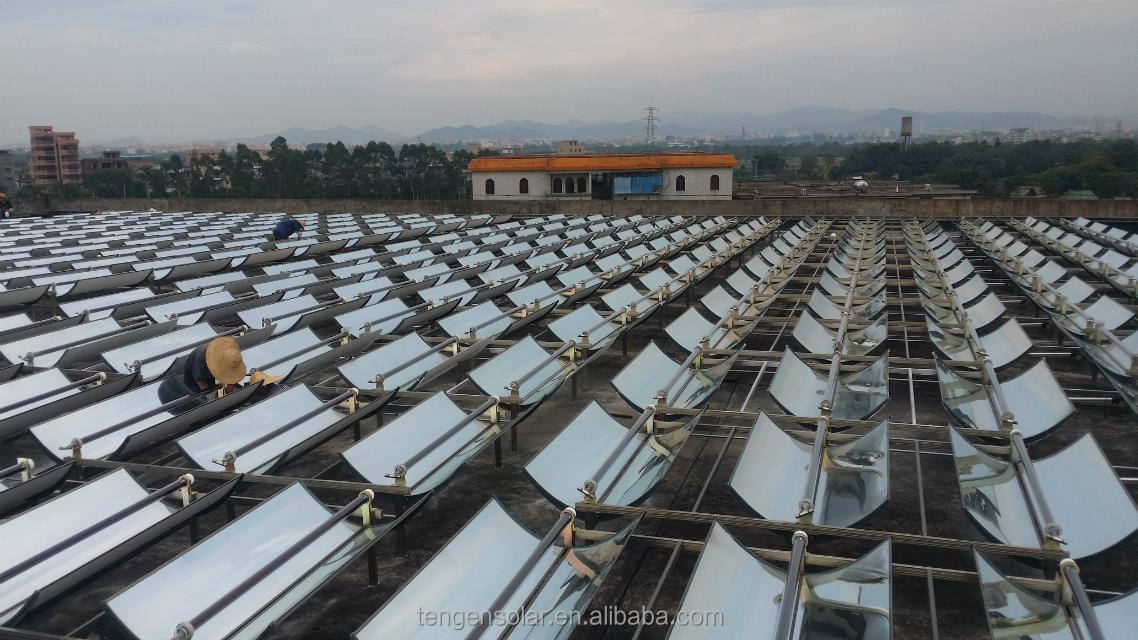 Guangzhou Parabolic solar heating collector