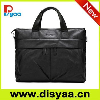 2017Leather laptop bag 15inch apple laptop bag in Shenzhen men bag