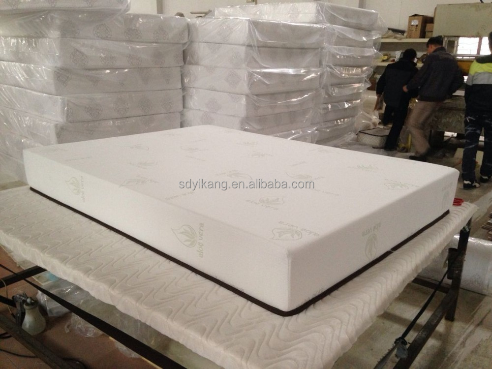 Roll Package Aloe vera Memory Foam Mattress Wholesale