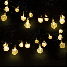 Outdoor Commercial Decoration Vintage Globe String Lights 10M with 10 Hanging E27 Sockets Bulbs Excluded 0.8M Space