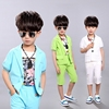 Children's Clothes Kids Cotton Summer Boy's Suits