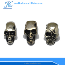 Metals Loose Beads paracord skull bead wholesale