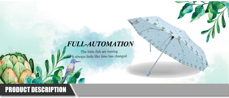 Unique And Fashion Style Top Quality Umbrella Printed Inside