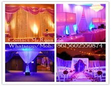 diy pipe and drape, wedding backdrops, wedding ceiling drapery