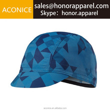 Wholesale Blank Template Custom Made China Imported Lightweight Quick Dry Sublimation Printing Custom Design Cycling Cap