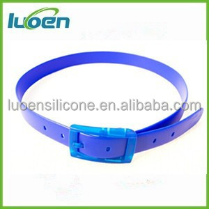 New popular colorfu silicone belt hot sale
