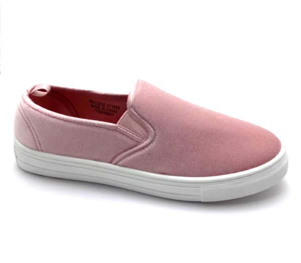 2018 New Design Campus Shoes simple slipon on warm canvas shoes