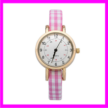 KD9401 Wholesale 2016 fashion ladies fancy cloth band wrist watches