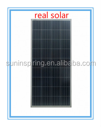 colorful poly pv solar panel 150 watt