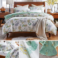 China Supplier Polyester pongee woven printed fabric for bedding set