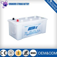 Super Heavy Duty N150 12V 150Ah Sealed Dry Charged Car Battery