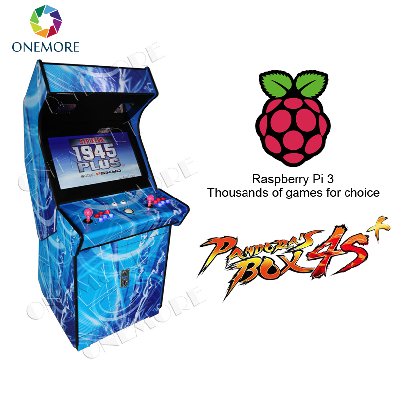 Coin Operated Amusement Arcade 32 Inch Arcade Cabinet Fighting Video Game