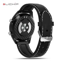 LICHIP pedometer compass mk for android circle cheap touch screen phone smartwatch with music android smart watch v1.0